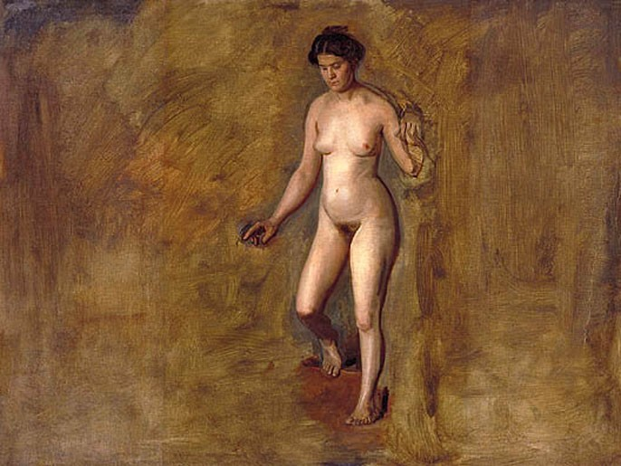 William Rush-s Model by Thomas Eakins
