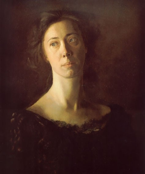 Clara by Thomas Eakins