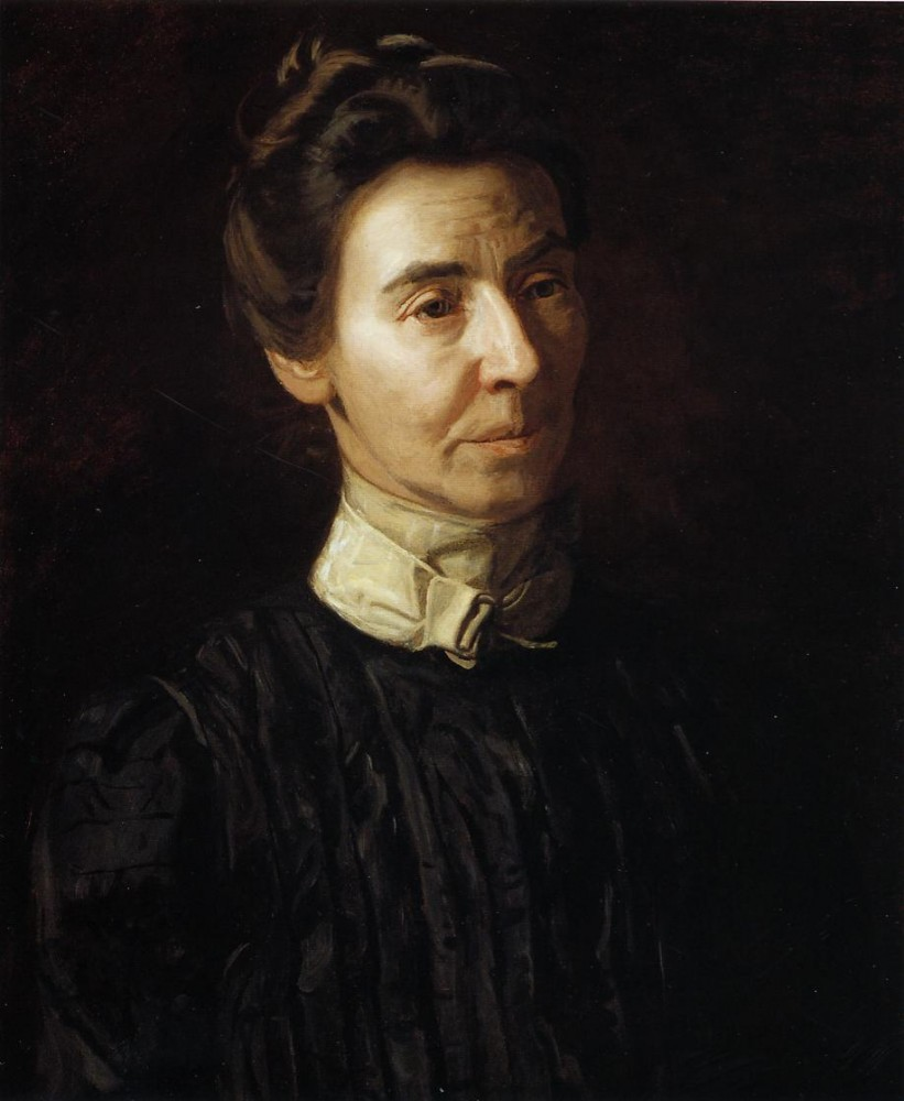 Portrait Of Mary Adeline Williams by Thomas Eakins