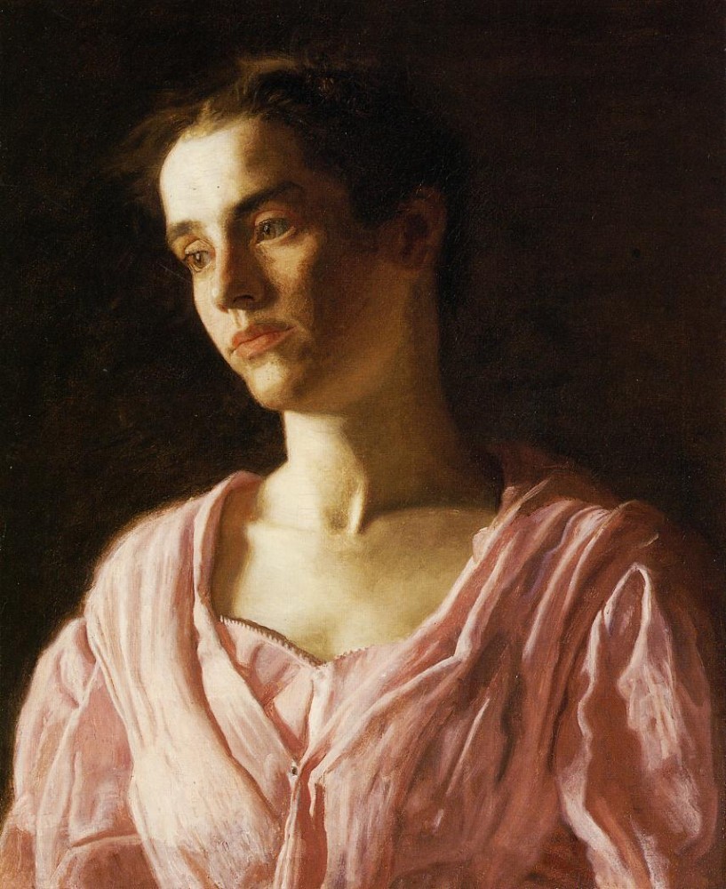 Portrait Of Maud Cook by Thomas Eakins