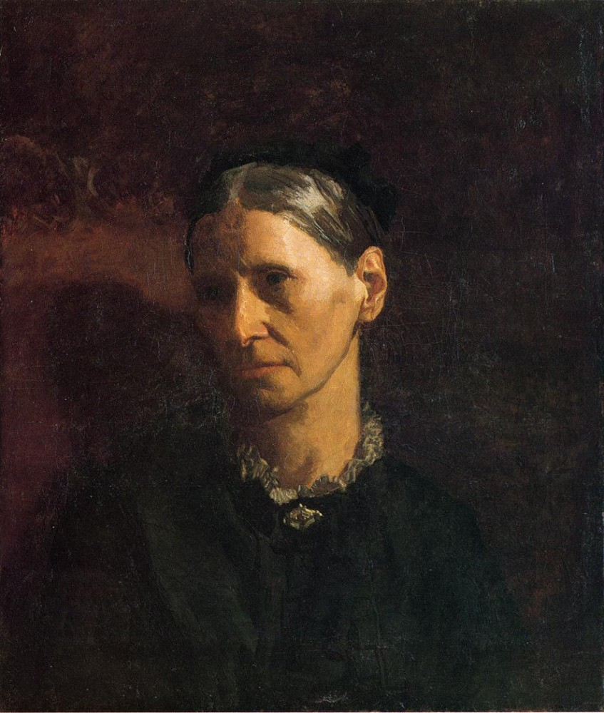 Portrait Of Mrs. James W. Crowell by Thomas Eakins