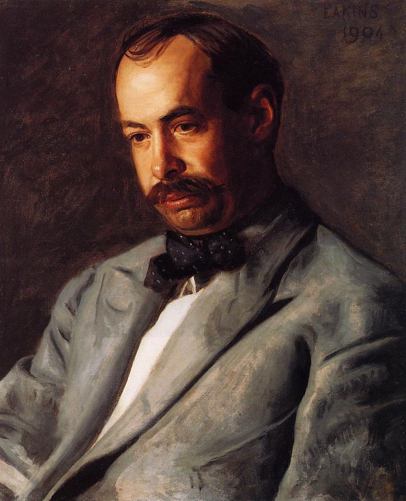 Portrait Of Charles Percival Buck by Thomas Eakins