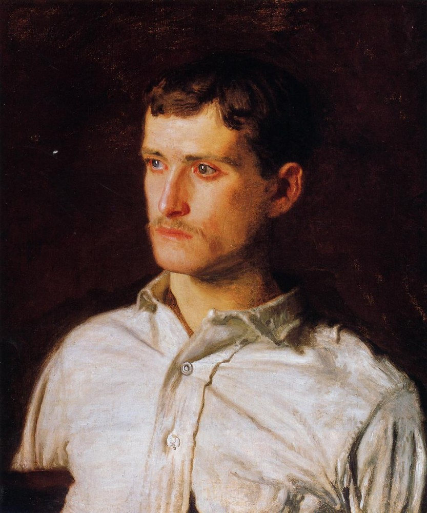 Portrait Of Douglass Morgan Hall by Thomas Eakins