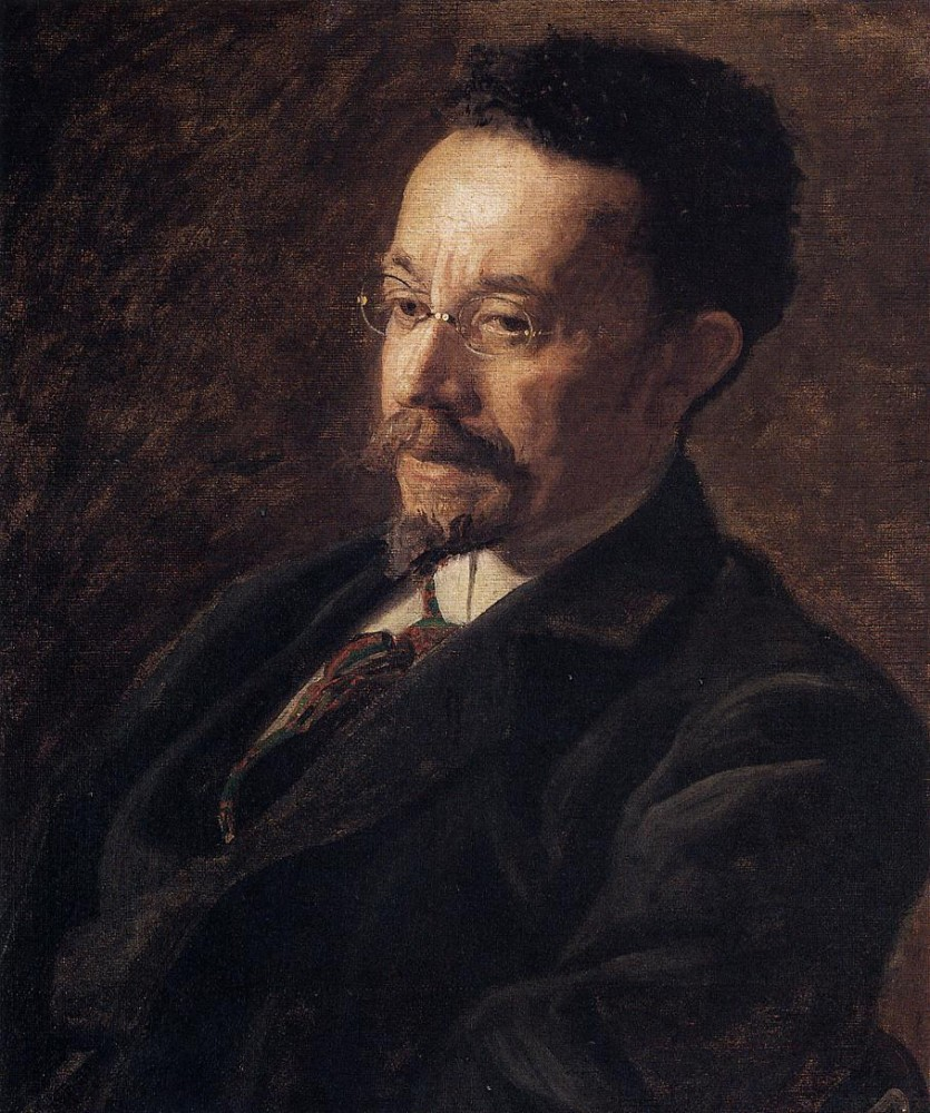 Portrait Of Henry Ossawa Tanner by Thomas Eakins