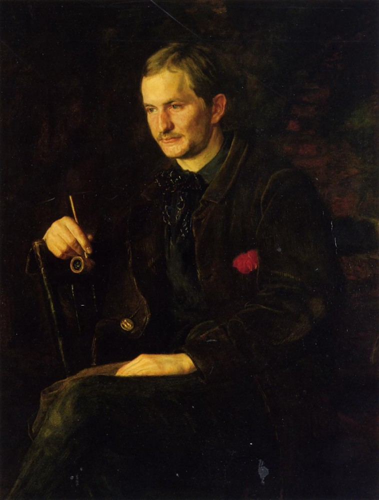 Portrait Of James Wright by Thomas Eakins