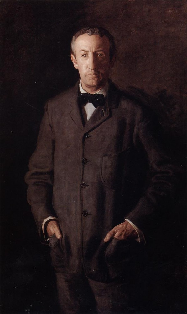 Portrait Of William B. Kurtz by Thomas Eakins