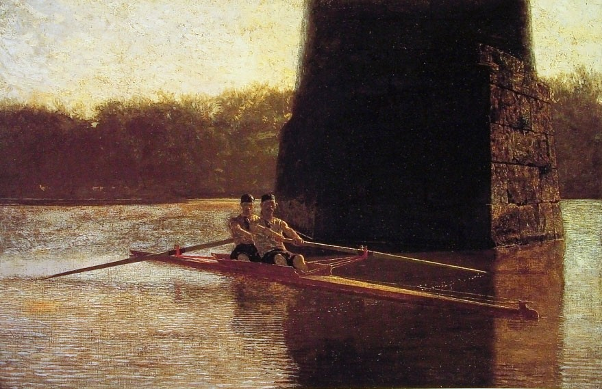 The Pair-Oared Shell by Thomas Eakins
