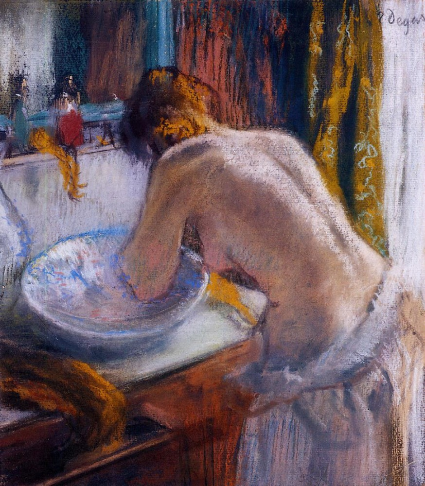 La Toilette by Edgar Degas