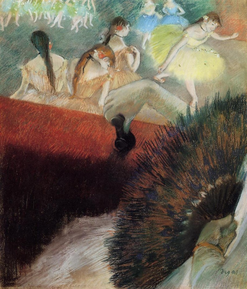 At the Ballet by Edgar Degas