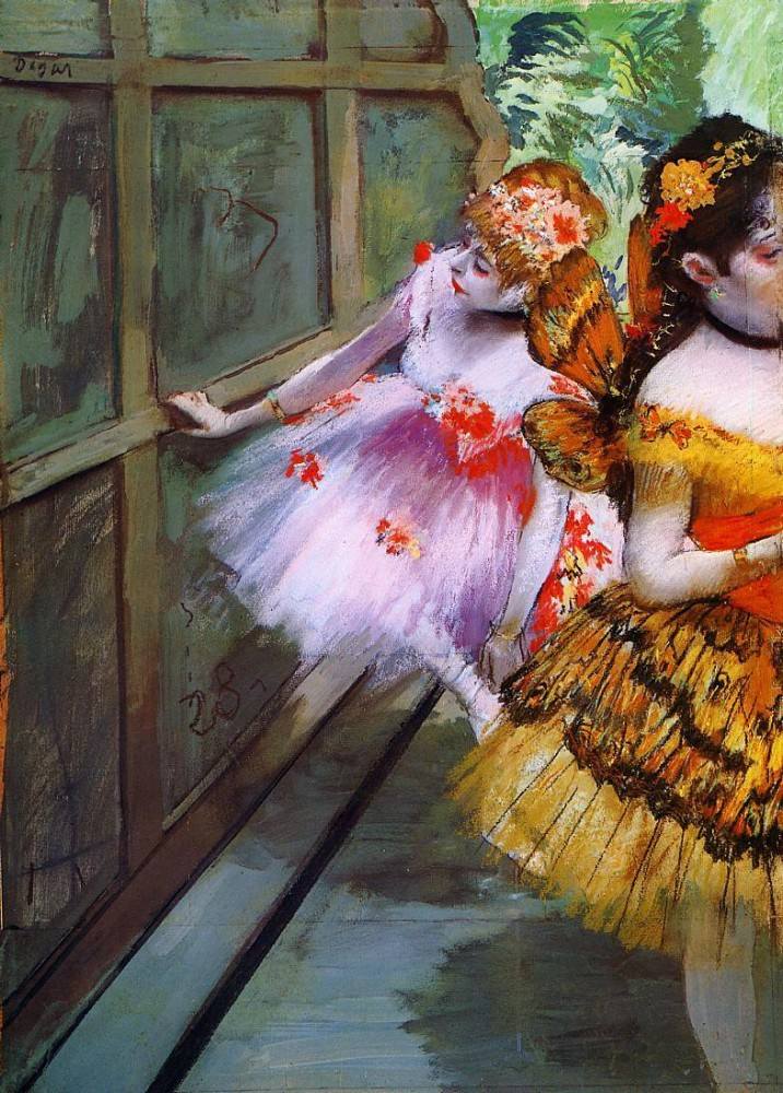 Ballet Dancers in Butterfly Costumes by Edgar Degas