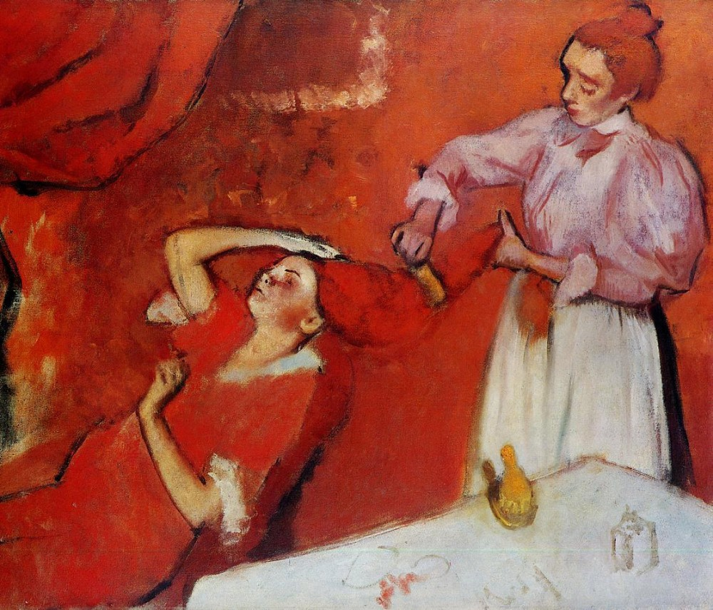 Combing the Hair by Edgar Degas