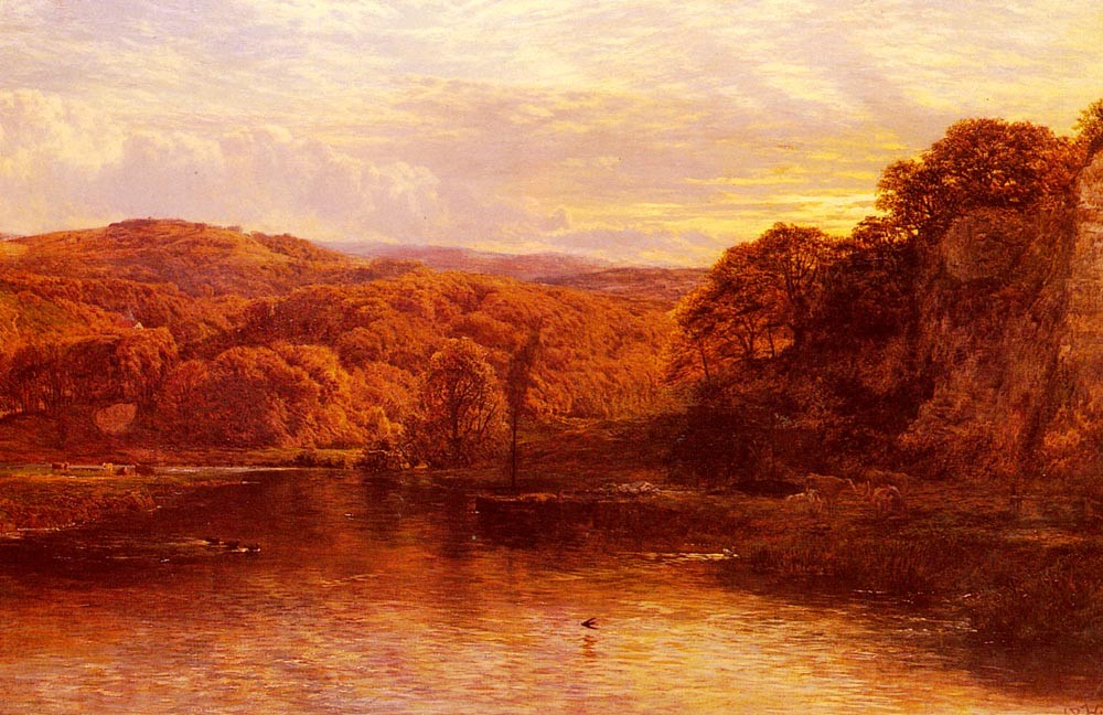 On The Arun by Thomas Cole