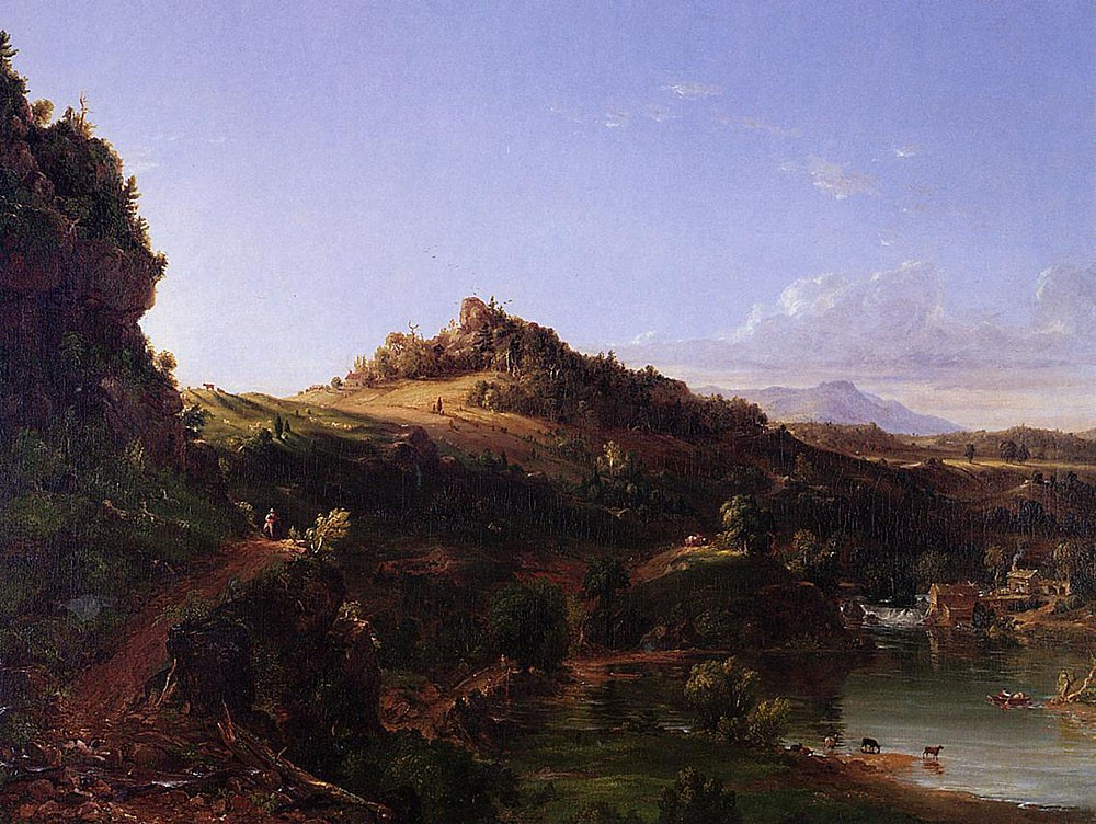 Catskill Scenery by Thomas Cole