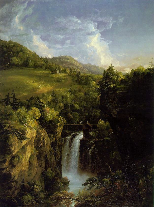 Genesee Scenery by Thomas Cole