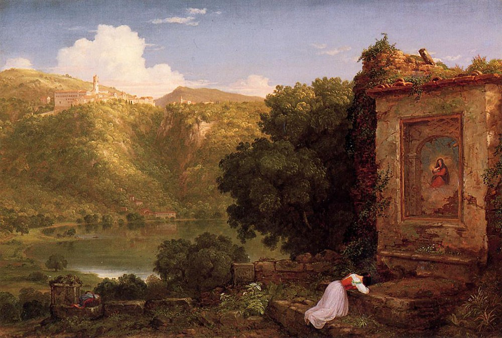 Il Penseroso by Thomas Cole