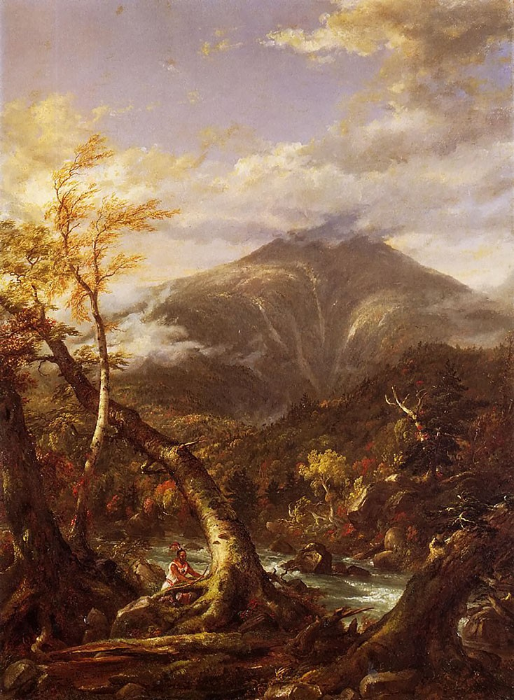 Indian Pass Tahawus by Thomas Cole