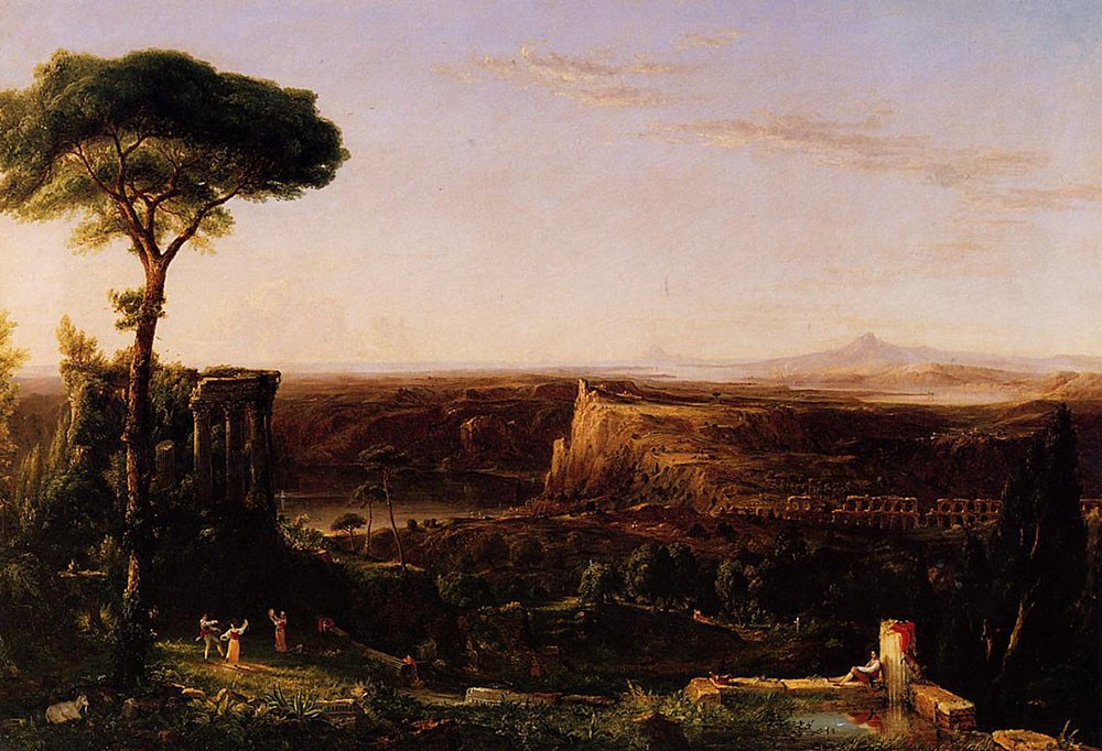 Italian Scene Composition by Thomas Cole