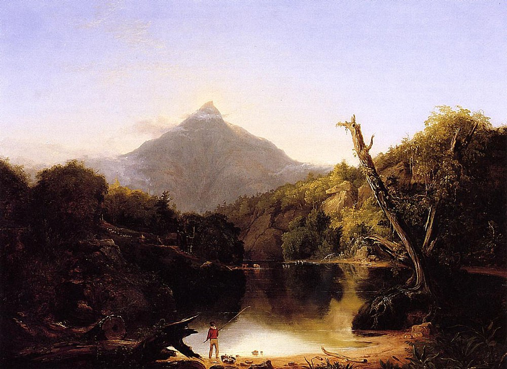 Mount Chocorua New Hampshire by Thomas Cole