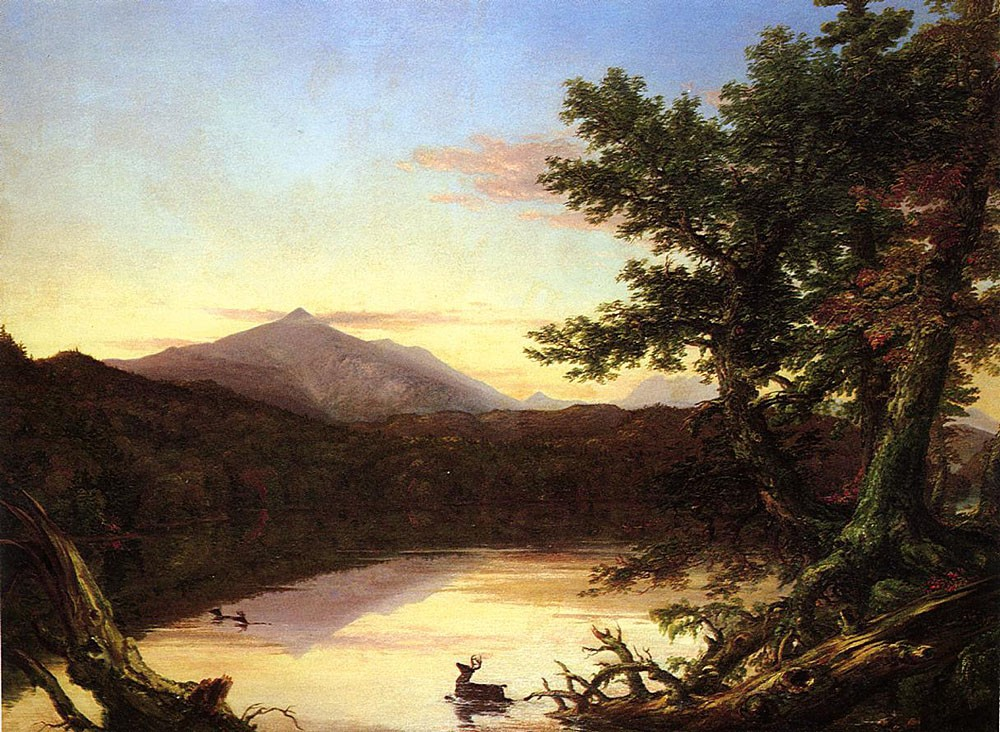 Schroon Lake by Thomas Cole