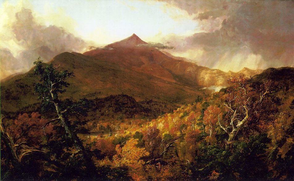 Schroon Mountain Adirondacks by Thomas Cole