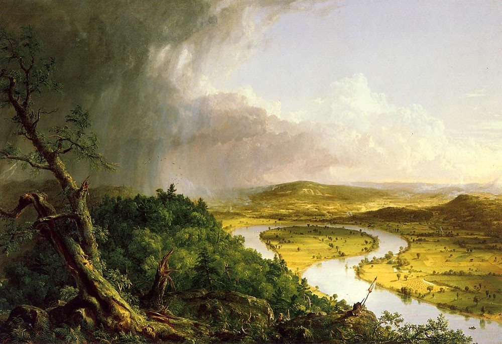 The Oxbow (The Connecticut River Near Northampton) by Thomas Cole