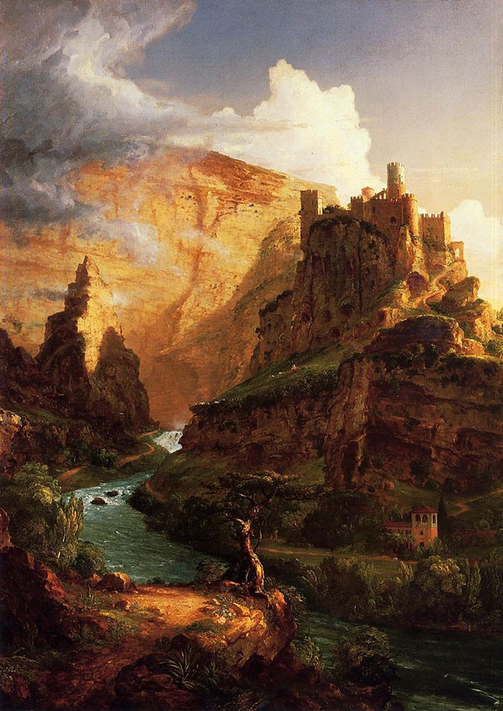 Valley Of The Vaucluse by Thomas Cole