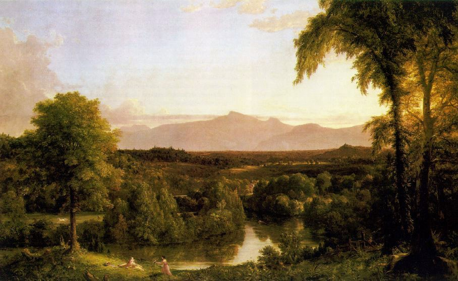 View On The Catskill Early Autumn by Thomas Cole