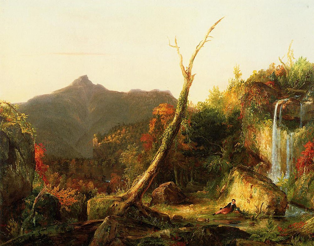 Autumn Landscape (Mount Chocorua) by Thomas Cole