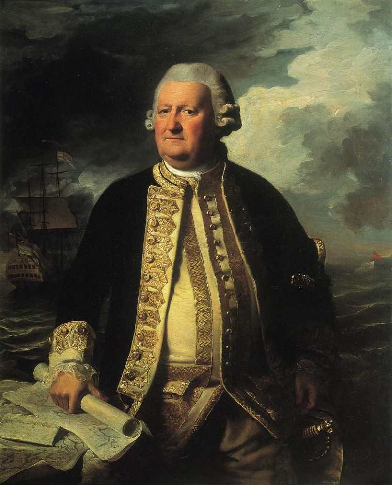 Clark Gayton Admiral Of The White by John Singleton Copley