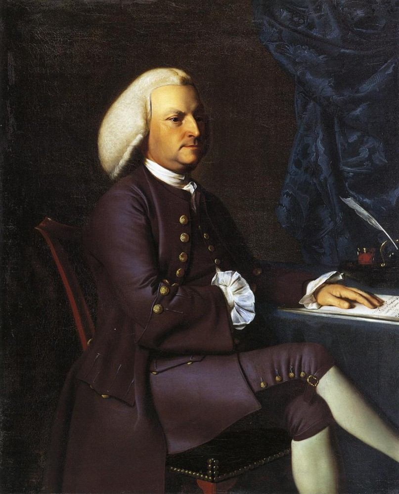 Isaac Smith by John Singleton Copley