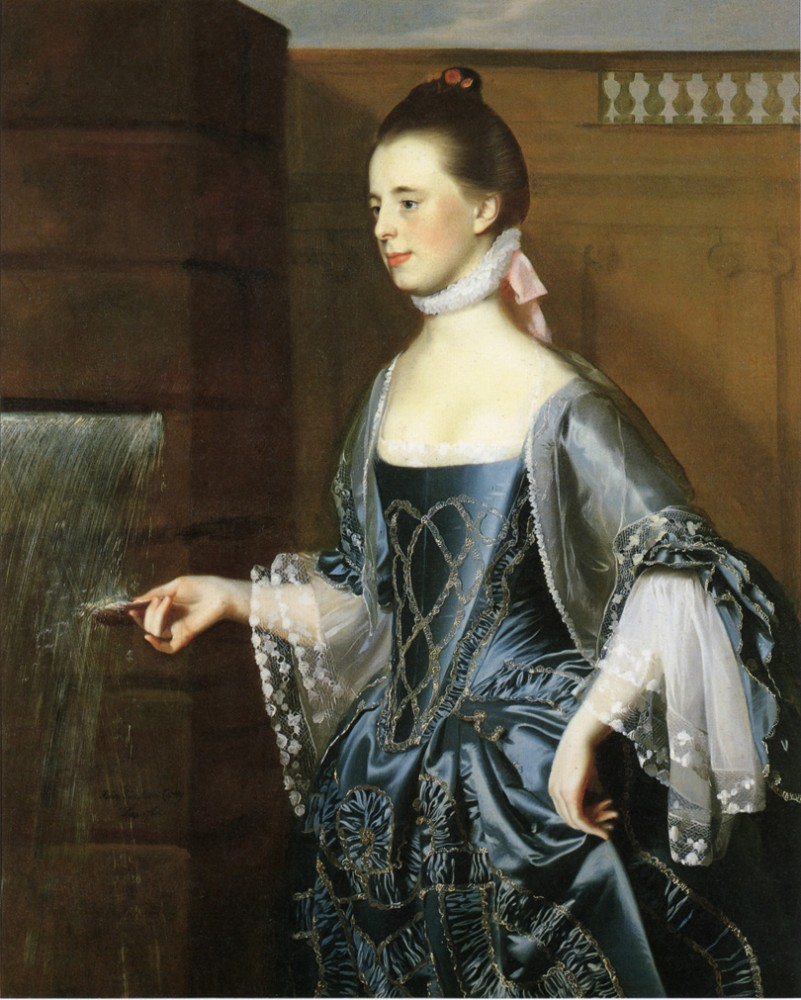 Mrs. Daniel Sargent Mary Turner Sargent by John Singleton Copley