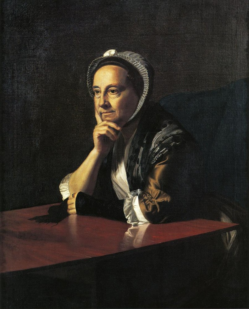 Mrs. Humphrey Devereux Mary Charnock by John Singleton Copley
