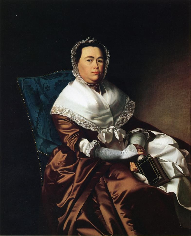 Mrs. James Russell Katherine Graves by John Singleton Copley