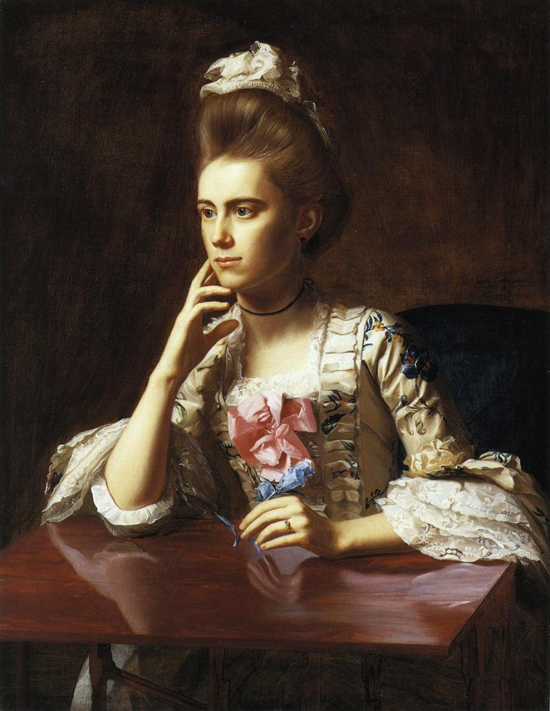 Mrs. Richard Skinner by John Singleton Copley