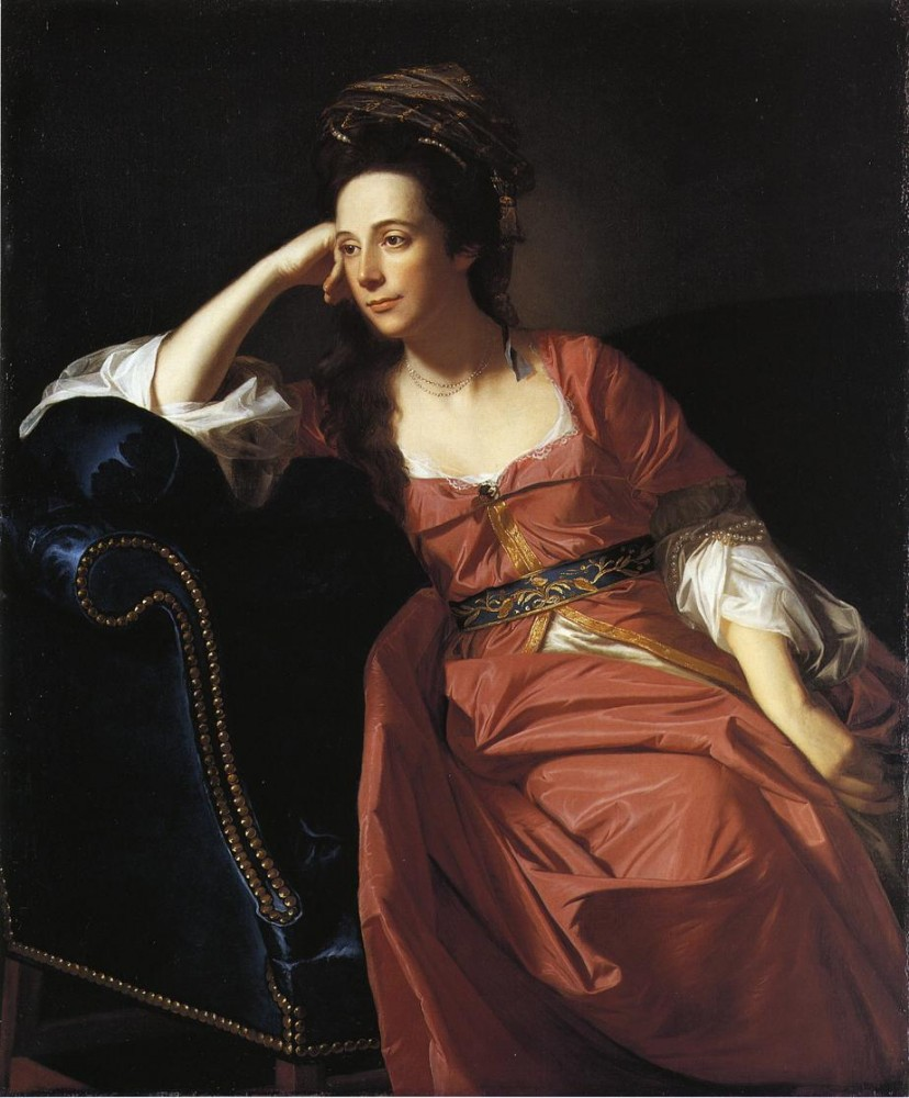 Mrs. Thomas Gage Margaret Kemble by John Singleton Copley