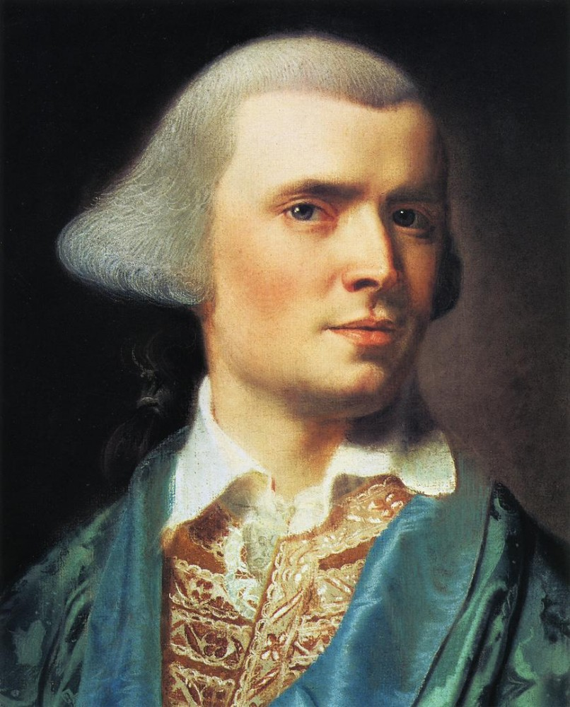 Portrait Of The Artist by John Singleton Copley