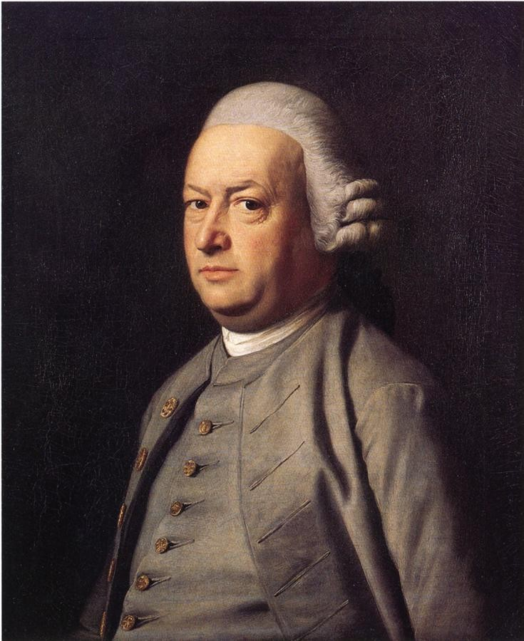 Portrait Of Thomas Flucker by John Singleton Copley