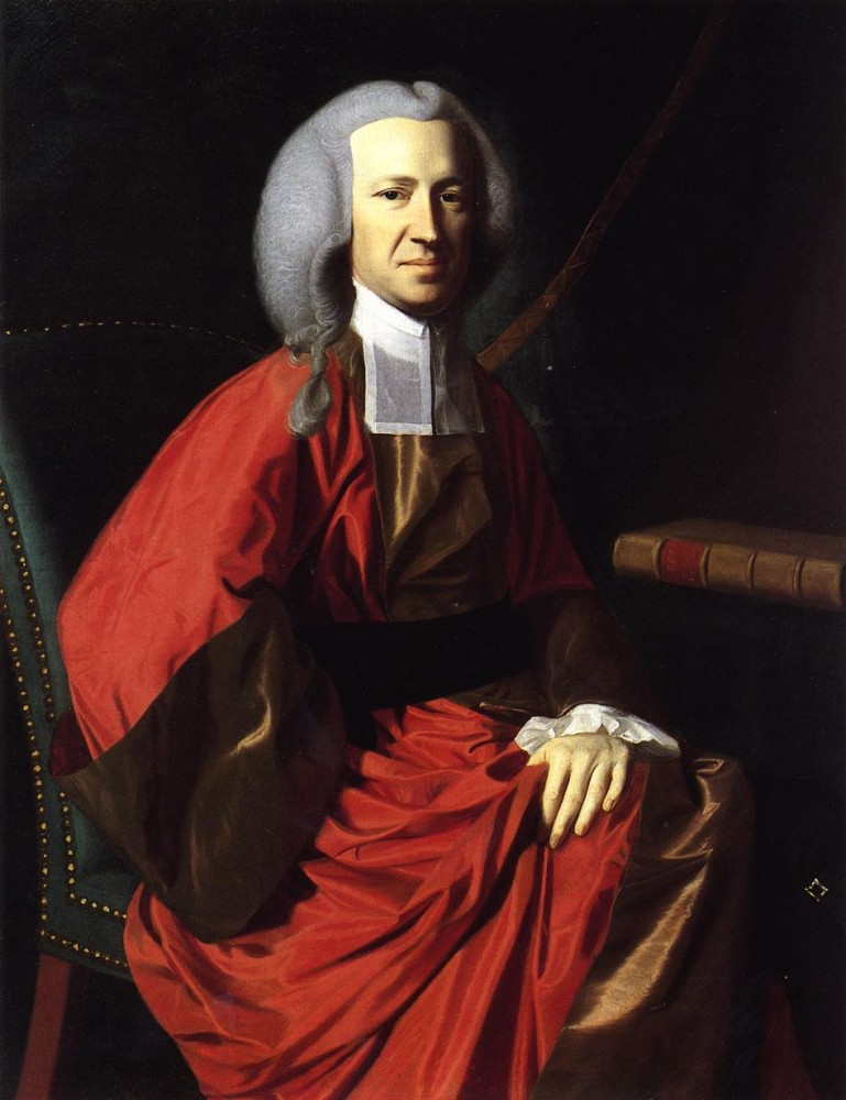 Portrait of Judge Martin Howard by John Singleton Copley
