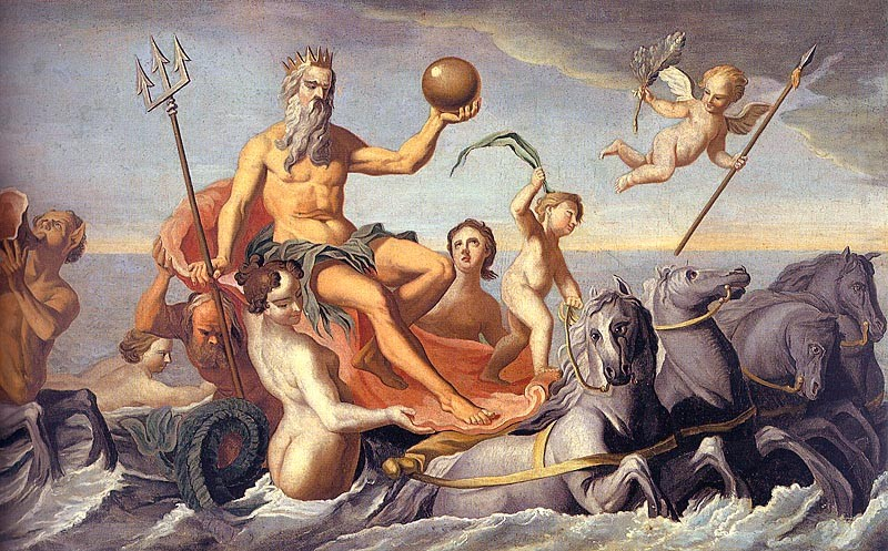 The Return of Neptune by John Singleton Copley