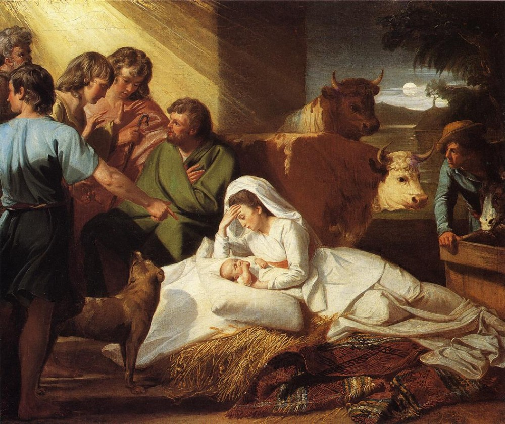 The Nativity by John Singleton Copley