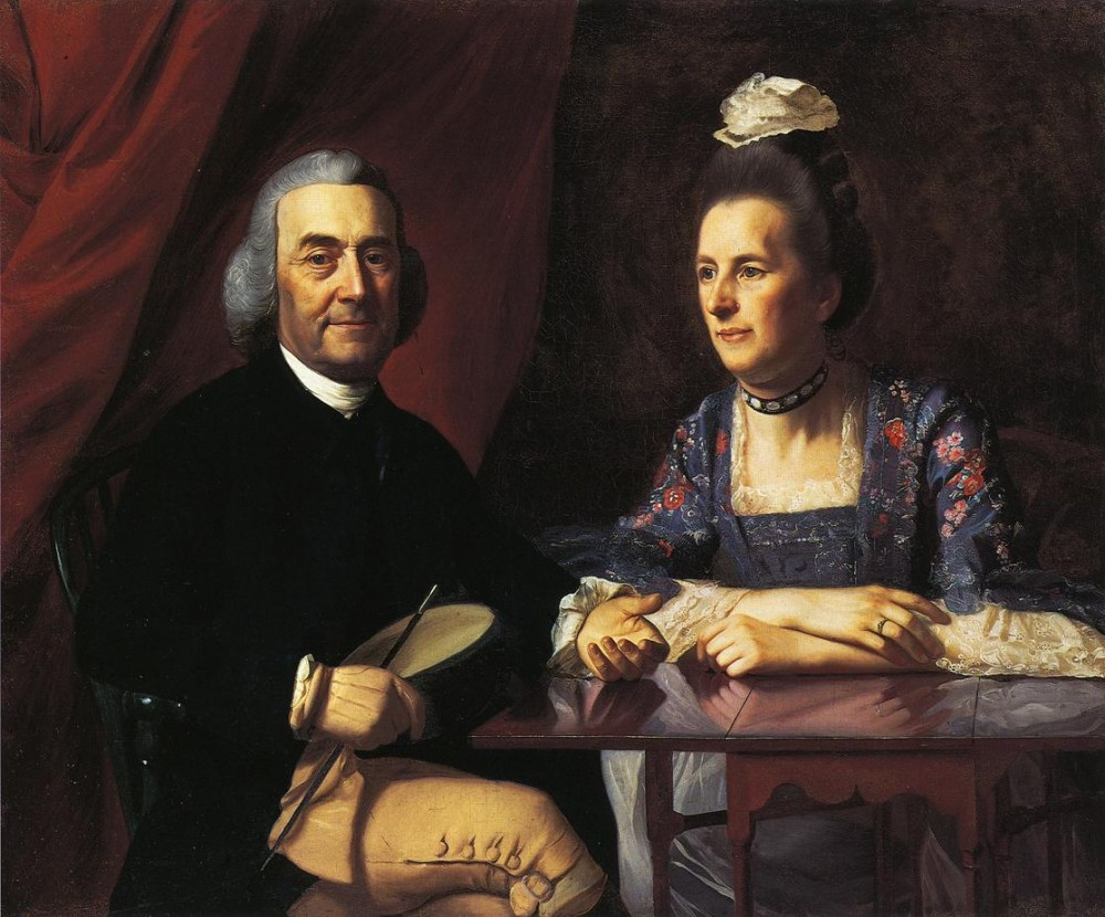 Mr. And Mrs. Isaac Winslow Jemina Debuke by John Singleton Copley