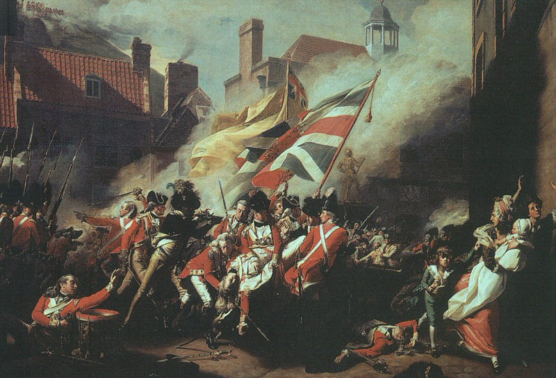 The Death of Major Pierson on the 6th of January of 1781 by John Singleton Copley