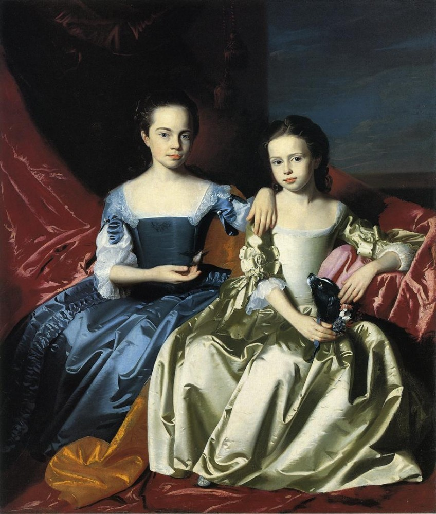 Mary And Elizabeth Royall by John Singleton Copley