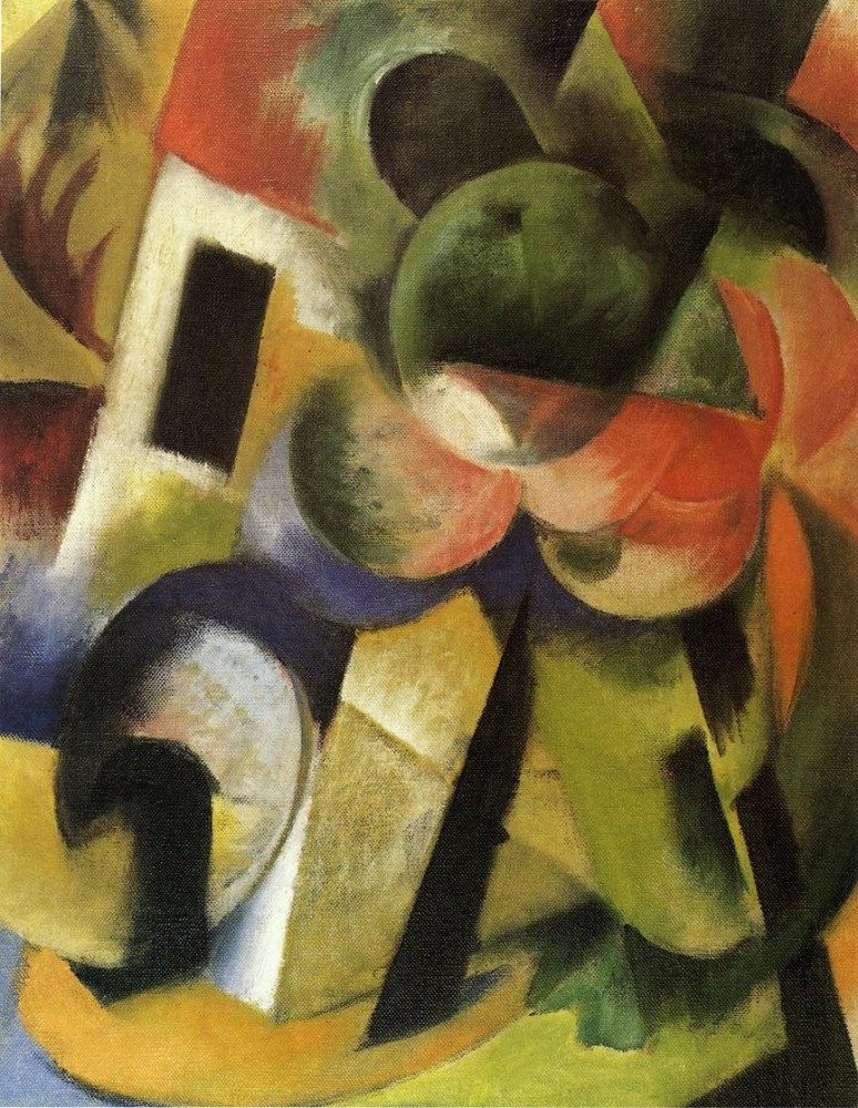 Small Composition Ii by Franz Marc