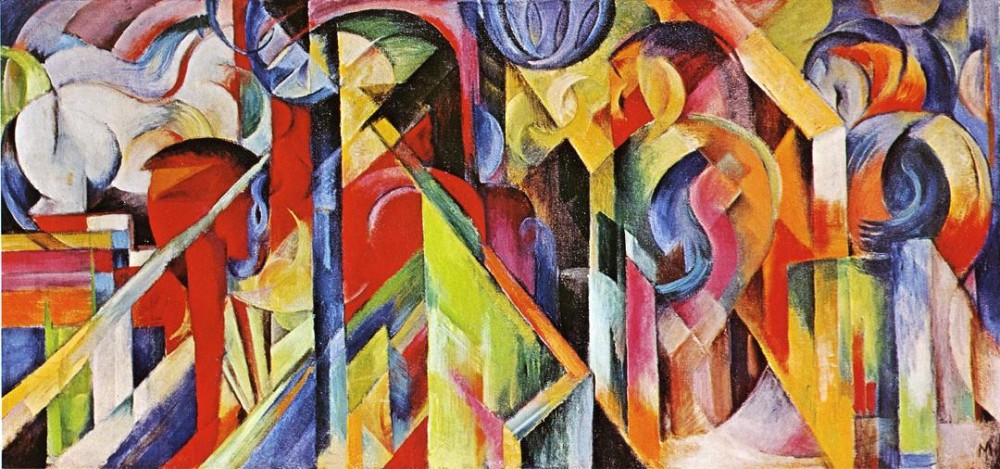 Stables by Franz Marc