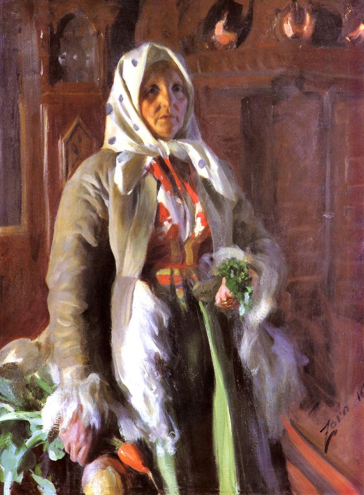 Mona by Anders Leonard Zorn