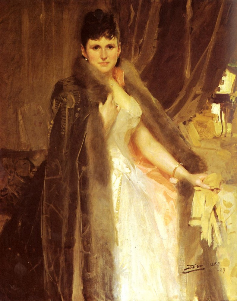 Mrs Symons by Anders Leonard Zorn