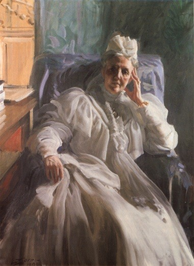 Queen Sophia by Anders Leonard Zorn