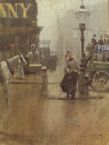 Impressions of London. by Anders Leonard Zorn