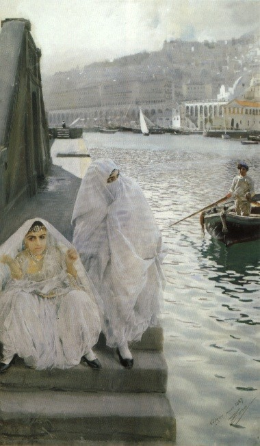 In The Harbour Of Algiers by Anders Leonard Zorn